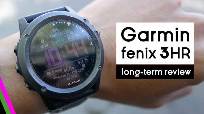 fenix 3 hr review